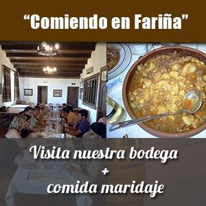 enoturismo-comiendo en Fariña