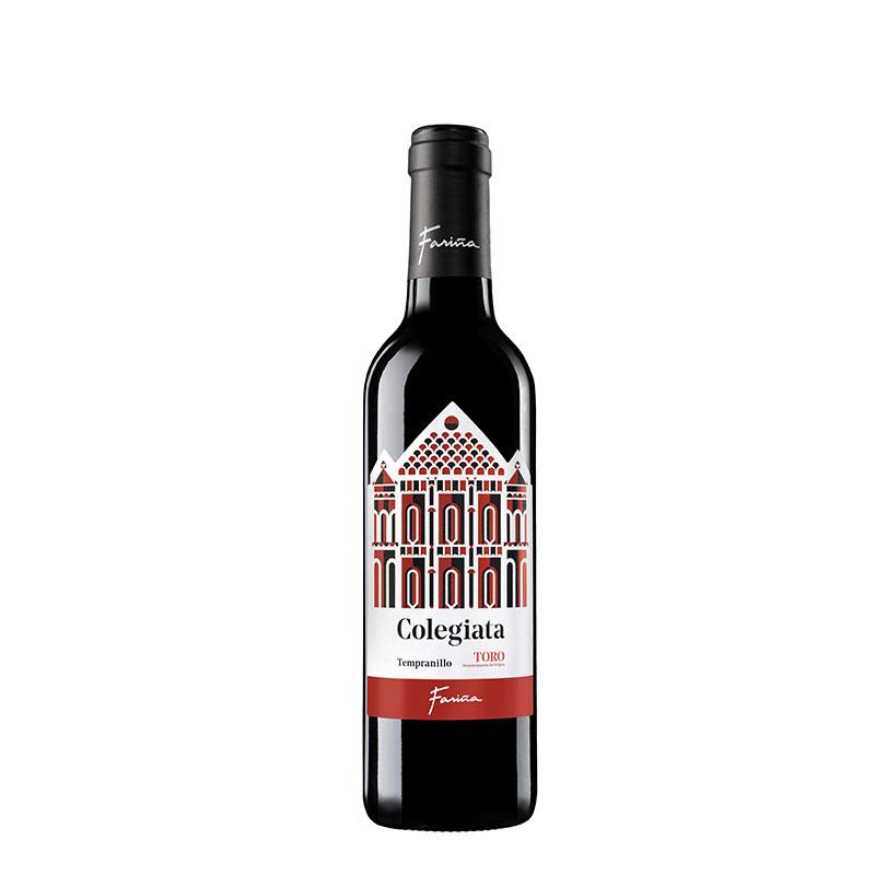 Botella Colegiata Tinto 37,5 cl.
